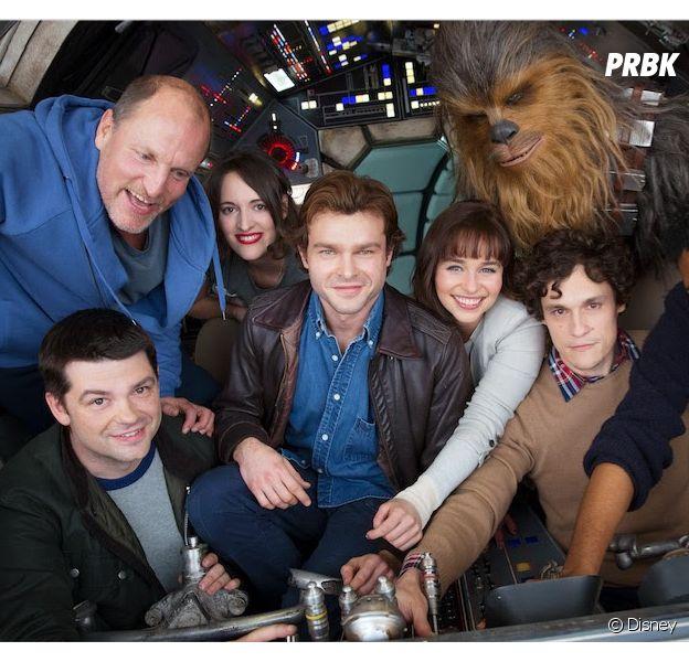 Han Solo : la première photo du casting du spin-off de Star Wars