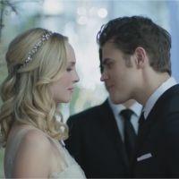 The Vampire Diaries saison 8 : le mariage de Caroline et Stefan se dévoile