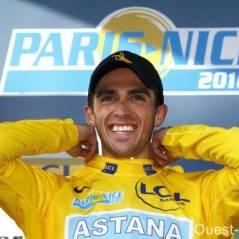 Paris-Nice ...  Alberto Contador voit la vie en jaune