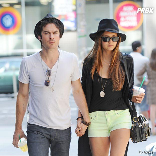 Ian Somerhalder et Nina Dobrev ont été en couple dans les coulisses de The Vampire Diaries