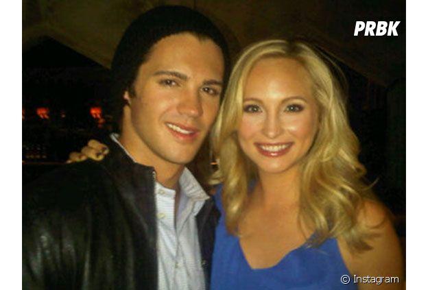Steven R. McQueen et Candice Accola ont été en couple dans les coulisses de The Vampire Diaries