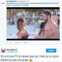 Kim Glow (Les Anges 9) choquée par le comportement d'Antho, elle l'insulte violemment sur Twitter