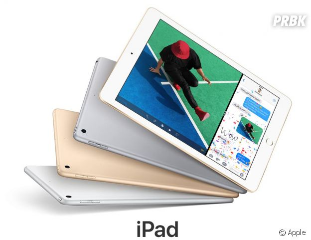 Le  ouvel iPad disponible dès le 24 mars 2017 à partir de 409 euros