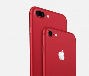 L'iPhone 7 et 7 Plus rouge d'Apple disponible dès le 24 mars 2017