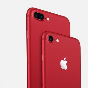 iPhone 7 et 7 Plus rouge : Apple mise sur le trendy contre le Sida