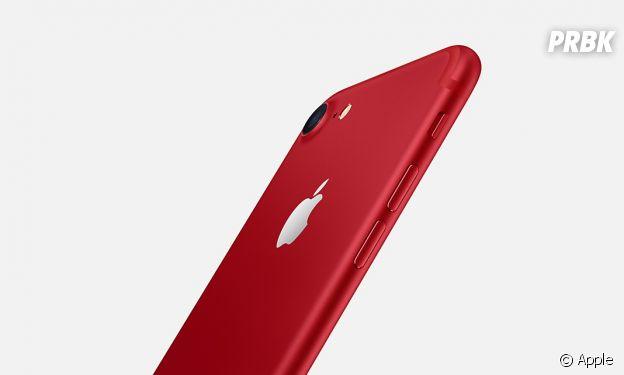 L'iPhone 7 et 7 Plus rouge d'Apple disponible dès le 24 mars 2017