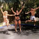 Milla (Les Anges 9), Sarah Fraisou, Mélanie... fêtent la fin du tournage au Mexique