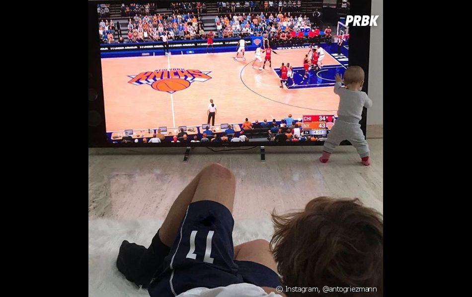 Antoine Griezmann papa : son adorable déclaration à sa fille Mia pour ses 1 an