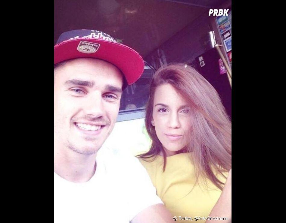 Antoine Griezmann en couple avec Erika Choperena depuis 2011