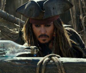 Johnny Depp dans Pirates des Caraïbes 5