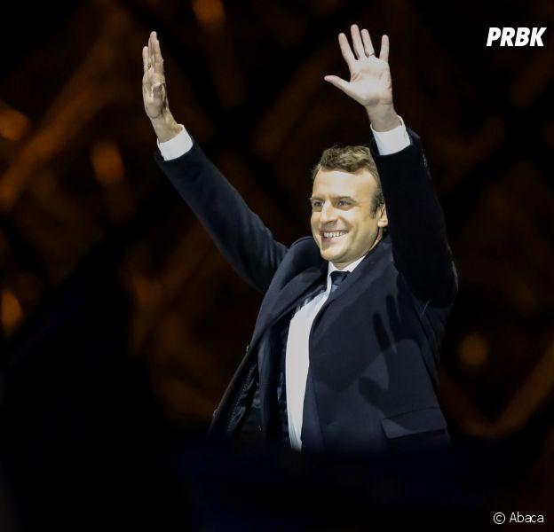 Emmanuel Macron élu présicdent le 7 mai 2017, les stars soulagées sur les réseaux sociaux