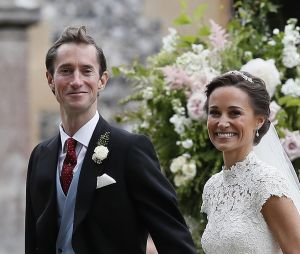 Pippa Middleton et son époux James Matthews