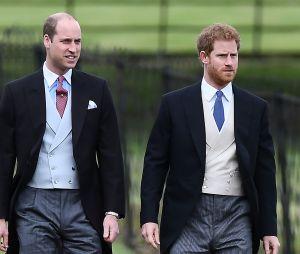 Harry et William au mariage de Pippa Middleton