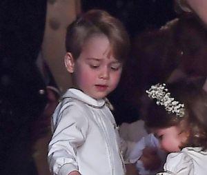 Le prince George et la princesse Charlotte au mariage de Pippa Middleton