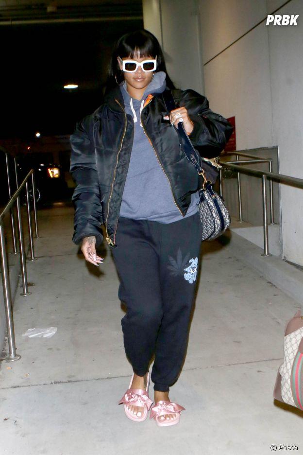Rihanna victime de body shaming des haters la traitent de grosse purebreak - Rihanna poids 2017 ...