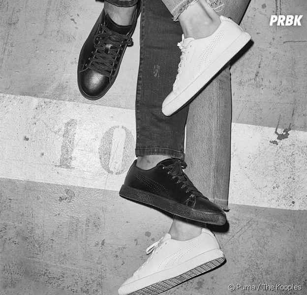 58b0e9c1f93611 Puma x The Kooples   la sneaker Clyde revisitée version rock - Purebreak