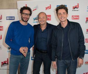 Manu Levy, Cauet et Guillaume Pley prennent la pause