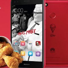 KFC lance son propre smartphone... et il ne se mange pas !