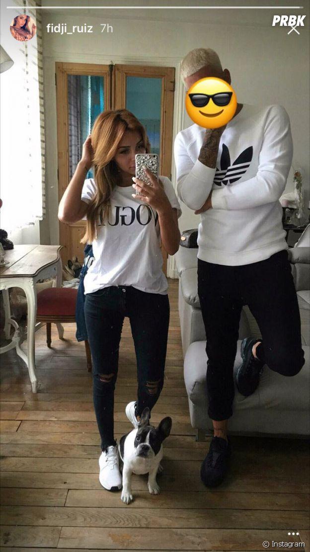Fijdi Ruiz (Les Marseillais VS Le reste du monde) avec son ex-petit ami sur Instagram