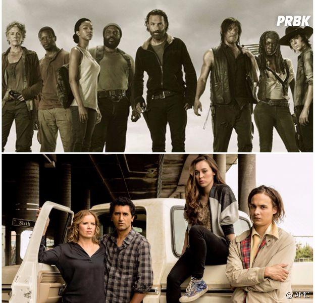 The Walking Dead saison 8 : bientôt un crossover avec Fear The Walking Dead ? La réponse