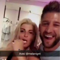 Paga et Mélanie (Les Vacances des Anges 2) très proches sur Snapchat
