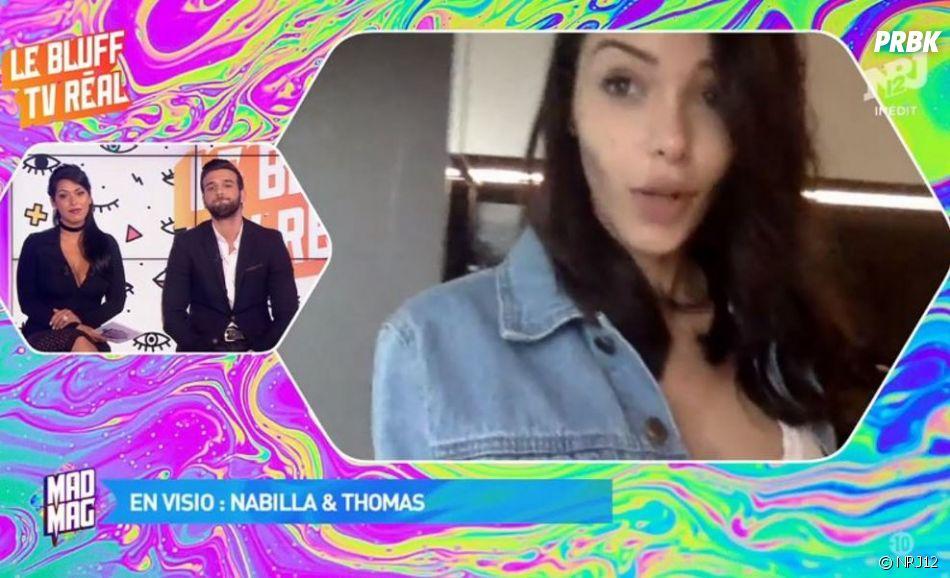 Nabilla Benattia et Thomas Vergara : elle revient sur leur rupture dans le Mad Mag !