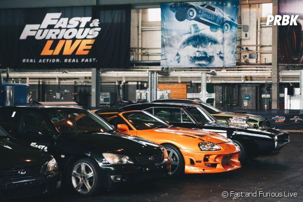 Fast and Furious Live à Montpellier en mars 2018 et à Paris en juin 2018.