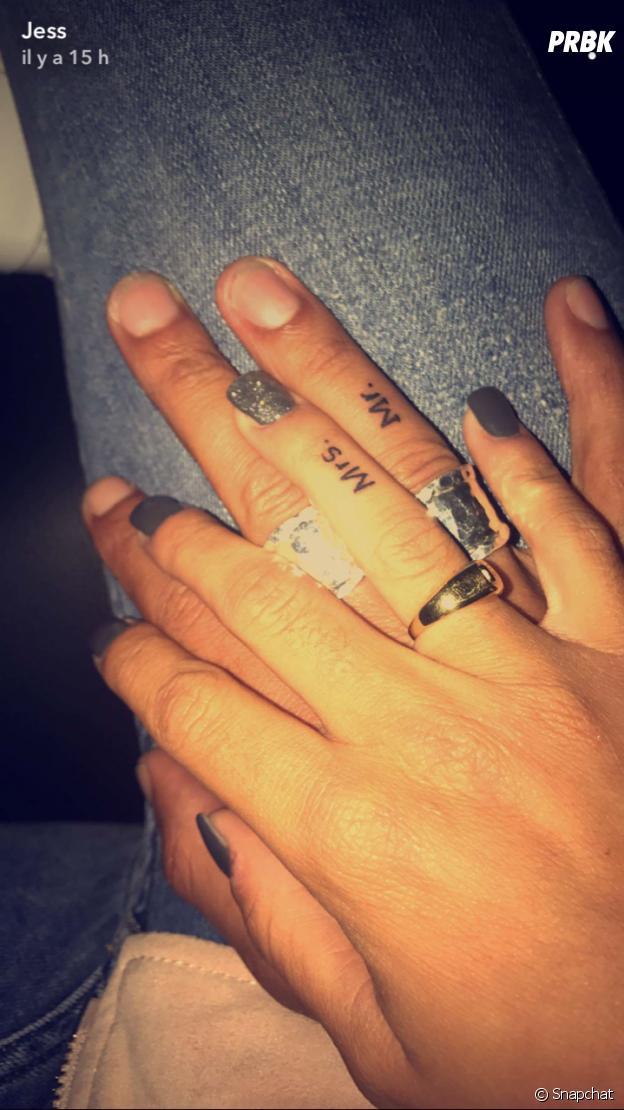 Jessy (Les Marseillais VS Le reste du monde) et Valentin  découvrez leur  tatouage