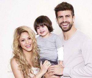 Shakira, Gérard Piqué et leur fils Milan