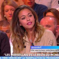 """Jessy (Les Marseillais) """"manipulée"""" par la production ? En larmes, elle balance dans TPMP"""