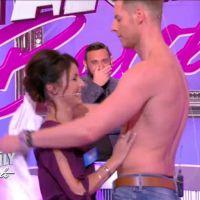 Matthieu Delormeau : strip-tease sexy avec une candidate de Family Battle sur C8