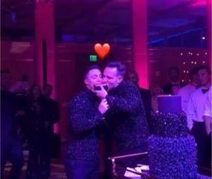 Colton Haynes et Jeff Leatham lors de leur mariage le 27 octobre 2017