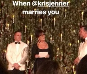 Colton Haynes et Jeff Leatham mariés par Kris Jenner