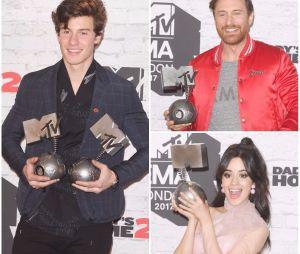 MTV EMA's 2017 : Shawn Mendes, David Guetta, Camila Cabello... découvrez le palmarès complet