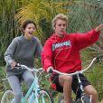 Justin Bieber et Selena Gomez : moment complice à vélo