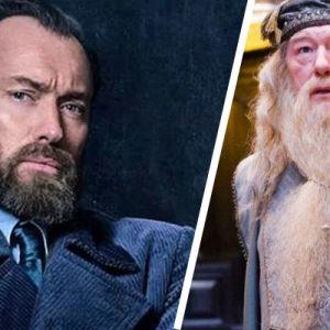 Les Animaux Fantastiques 2 : le Dumbledore de Jude Law sera différent d'Harry Potter