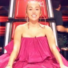 Miley Cyrus : sa robe rose bonbon portée pour The Voice prend cher sur les réseaux