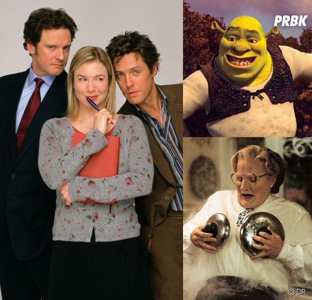 Bridget Jones, Shrek, Mme Doubtfire... : saviez-vous que ces films sont inspirés de romans ?