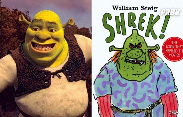 Shrek est adapté d'un roman