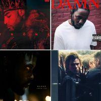 Les 10 meilleurs albums rap de l'année : Damso, Orelsan, Booba, Kendrick Lamar...