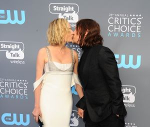 Norman Reedus et Diane Kruger : premier bisou sur le red carpet aux Critics Choice Awards 2018 le 11 janvier