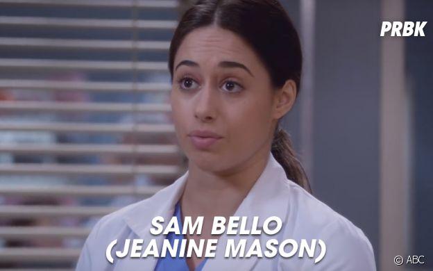 Grey's Anatomy saison 14 : Sam Bello, nouvelle interne de la série