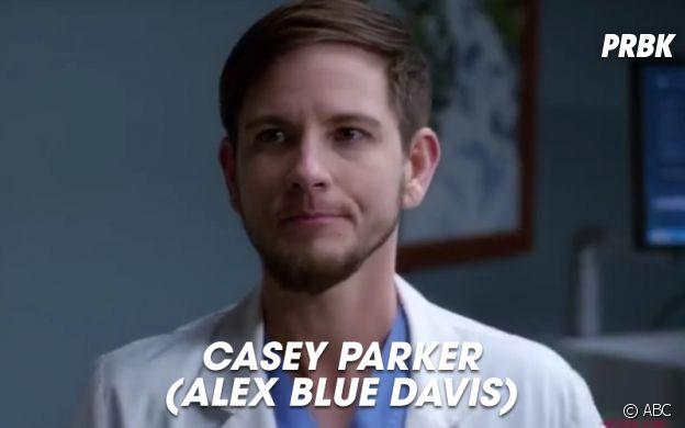 Grey's Anatomy saison 14 : Casey Parker, nouvel interne de la série