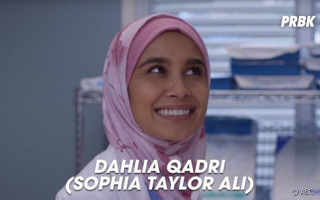 Grey's Anatomy saison 14 : Dahlia Qadri, nouvelle interne de la série