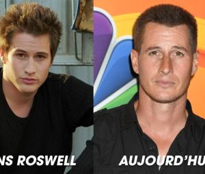 Roswell : Brendan Fehr dans la série et aujourd'hui