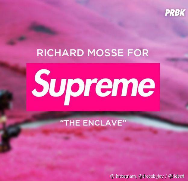 Richard Mosse x Supreme : la collab qui voit la vie en rose !