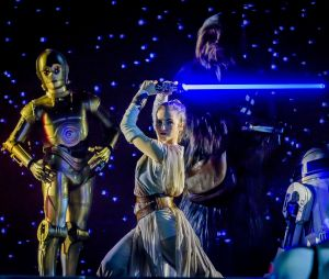 L'expérience Star Wars à Disneyland Paris.