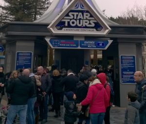 Star Wars à Disneyland Paris.