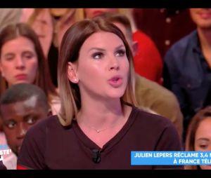 Amélie Neten : son tacle maladroit à Matthieu Delormeau