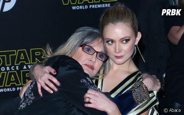 Billie Lourd est la fille de Carrie Fisher